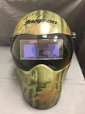 Snap on camo welding mask ADF150F Auto Darkening