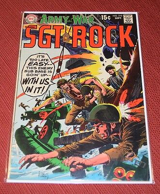 Our Army at War #210 (Sep 1969, DC)
