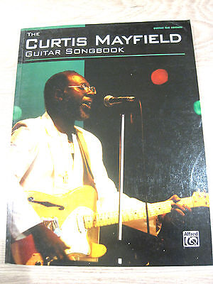 Curtis Mayfield Guitar Songbook Sheet Music Song Book Guitar Tab Tablature