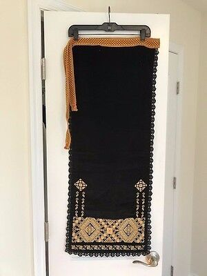 Vintage hand Embroidered Romanian Skirt