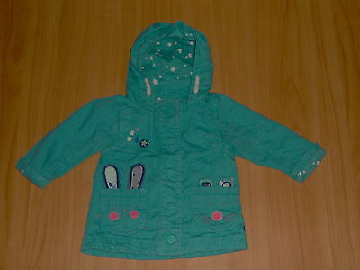 ** Next ** So Süße **Bunny Mouse** Mantel Jacke Hase Maus Gr. 62/68/74 3-6 UK
