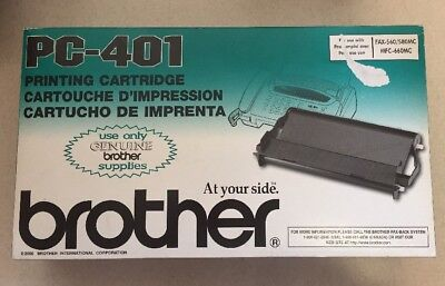 Brother Printing Cartridge PC-401 For Fax-560/580MC/MFC-660MC