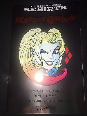 Harley Quinn #24 2017 Foil SDCC Variant Cover - Comic Con Exclusive