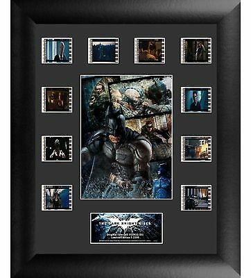 The Dark Knight Rises - Framed 35mm Film Cell Montage - Limited to 2500 - NEW
