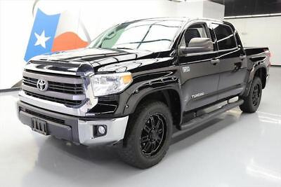 "2015 Toyota Tundra 1794 Edition Extended Crew Cab Pickup 4-Door 2015 TOYOTA TUNDRA SR5 CREWMAX 4X4 TSS 20"" WHEELS 35K #417244 Texas Direct Auto"