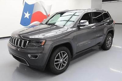 2017 Jeep Grand Cherokee Limited Sport Utility 4-Door 2017 JEEP GRAND CHEROKEE LTD LEATHER PANO ROOF NAV 21K #636133 Texas Direct Auto