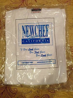 New In Package Womens Chef Lab Coat Size Medium. New Chef Brand