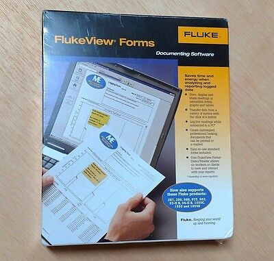 FLUKE FlukeView Forms Documenting Software - New in Box, sealed - Version 3.8