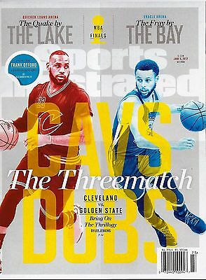 New Sports Illustrated Lebron James Steph Curry 2017 NBA Finals No mailing label
