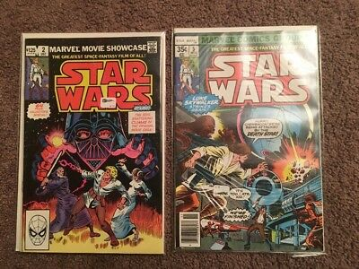 Old Star Wars Comics Issues 2 And 5