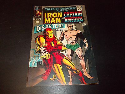 Tales of Suspense 79 FN+ 1st appearance of the Cosmic Cube Namor Captain America