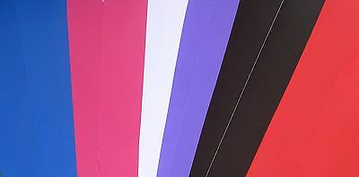 A4 12 Vinyl sheets- for craft and sign writing,  Plus free Transfer
