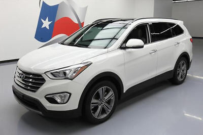 2016 Hyundai Santa Fe  2016 HYUNDAI SANTA FE LTD ULTIMATE LEATHER PANO NAV 18K #132739 Texas Direct