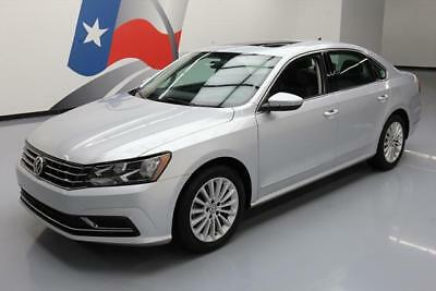 2016 Volkswagen Passat SE Sedan 4-Door 2016 VOLKSWAGEN PASSAT 1.8T SE SUNROOF REAR CAM 32K MI #010073 Texas Direct Auto