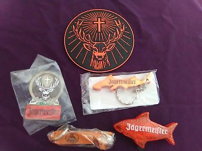 JAGERMEISTER Coaster, Bottle Openers, Magnet and Flashing Fish New