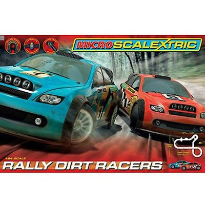 Scalextric Micro Rally Dirt Racers
