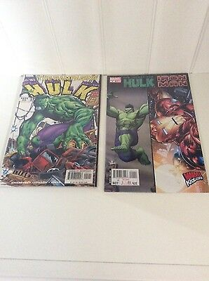 Marvelhulk And Iron Man Comic Books