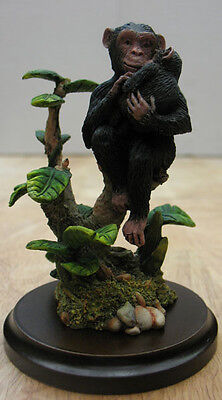Country Artists Chimpanzee With Baby Figurine,  Item #2522