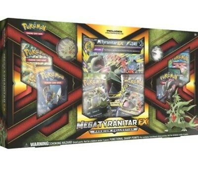 POKEMON TCG EX Premium Collection Mega Tyranitar EX Collection Box FREE EXPRESS