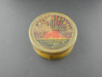 Vintage Golden State Washers Radiator Specialty Company Tin Can