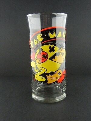 Vintage 1982 Pac-Man Drinking Glass - Great Condition