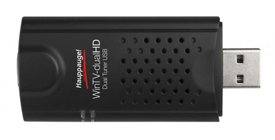 Hauppauge WinTV-dual HD - Dual, Triple Mode, TV Tuner for Freeview (DVB-T), Free