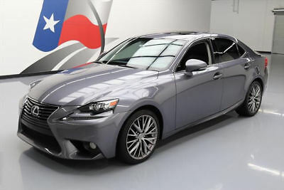 2014 Lexus IS  2014 LEXUS IS250 CLIMATE SEATS SUNROOF REAR CAM 31K MI #041460 Texas Direct Auto