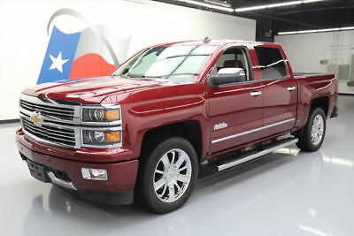 2014 Chevrolet Silverado 1500 High Country Crew Cab Pickup 4-Door 2014 CHEVY SILVERADO 4X4 HIGH COUNTRY SUNROOF NAV 39K #410445 Texas Direct Auto