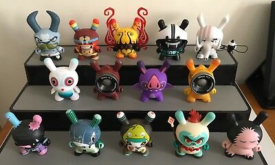 Kidrobot Dunny 2013 Sideshow Series 14 Pieces From The Set