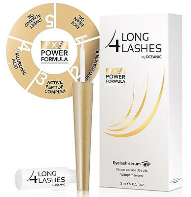 Long4Lashes by Oceanic FX5 Power Formula Wimpernserum 100% ORGINAL !