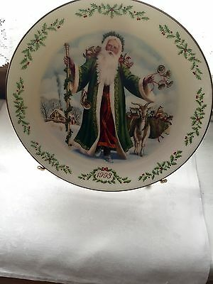 Lenox International Victorian Santa Plate Collection-1993 The Father Christmas