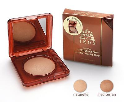 100% ORIGINAL Ikos Egyptishe Erde Bronzer Tanning Make-Up Powder Mediterran 7g