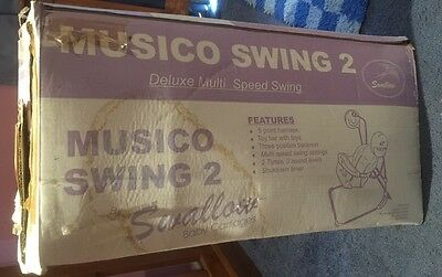 Baby Swing Battery Operated Musical