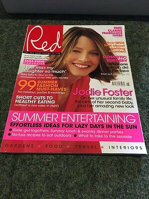 RED - JODIE FOSTER - UK - June 2002