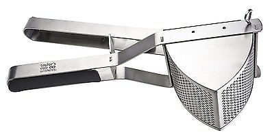 TAYLORS EYE WITNESS Stainless Steel Professional Potato Ricer with Soft Grip and