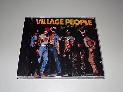 Live and Sleazy by Village People (CD, 1994, Rebound Records)