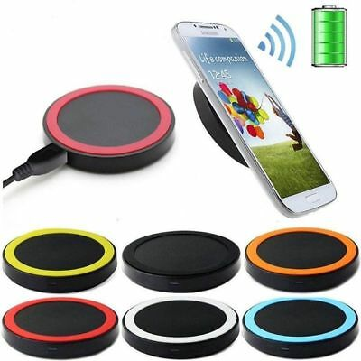 Qi Wireless Charger Pad Charging Receiver For Samsung Galaxy S3/4/5 Apple iphone