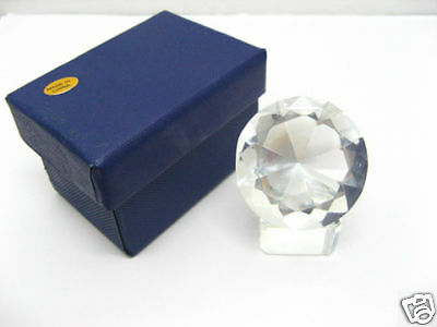 1X New Clear Taper Crystal Ball 100mm