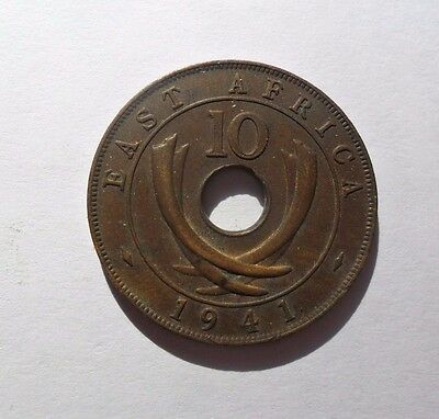 1941 E. Africa 10 Cent Coin High Grade Lot #3