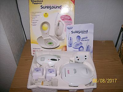 Tommee Tippee Crystal Clear Suresound Deluxe Baby Monitor