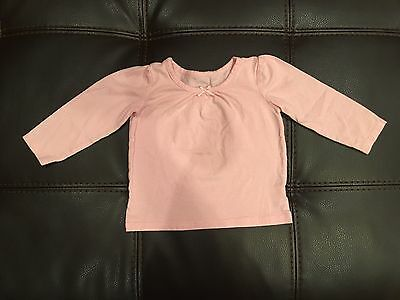 Children's Place Baby Girls Light Pink Long Sleeve Top -- Size 18-24 Months