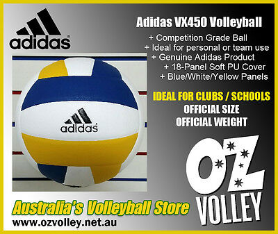 Genuine Adidas VX450 Indoor Volleyball - Official Size & Weight - OzVolley