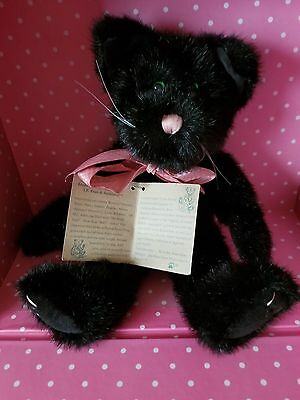 BOYDS BEARS & FRIENDS - PLUSH BLACK CAT (ZOE) 20th Anniversary Edition