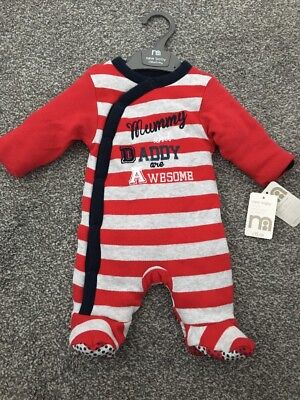 New With Tags Walk In Sleeper - Baby Boys Baby Grow From Mothercare