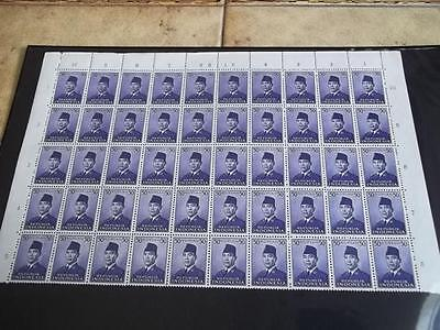 Indonesia Nice Huge Lot Mnh ** Parts Of Sheet !! Look All Pictured !!