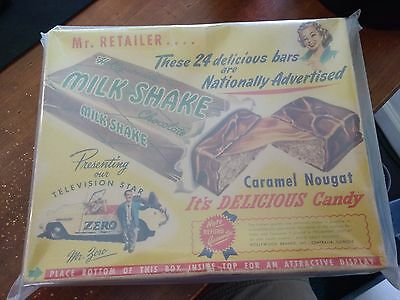Milk Shake Candy Bar Box