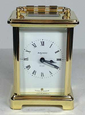 Perfect French Duverdrey & Bloquel - Bayard Mignonette 8 days Carriage clock