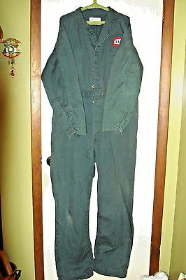 VINTAGE TEXACO REFINERY COVERALLS WITH PATCH-1950's