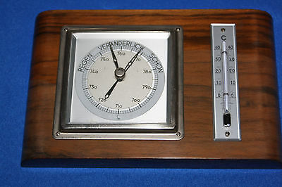 LUFFT  BAROMETER  THERMOMETER  Art Deco