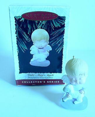 "1996 Hallmark Keepsake Ornament ""Violet - Mary's Angels"" #9 in Series"